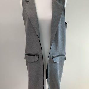 Topshop Tailored Longline Vest